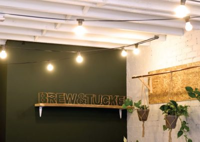Brew and Tucker | Coffee Shop Frodsham | Brew and Tucker Sign