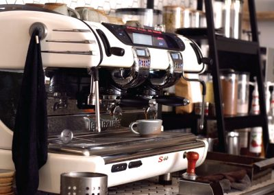 Brew and Tucker | Coffee Shop Frodsham | Coffee Machine