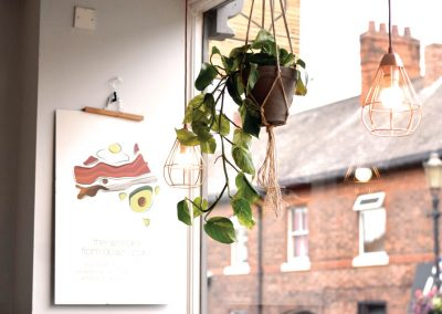 Brew and Tucker | Coffee Shop Frodsham | Flowers