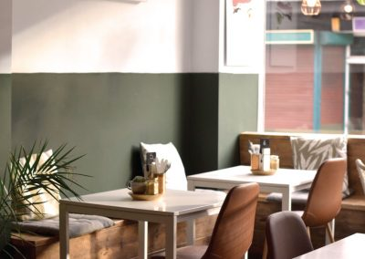 Brew and Tucker | Coffee Shop Frodsham | Table